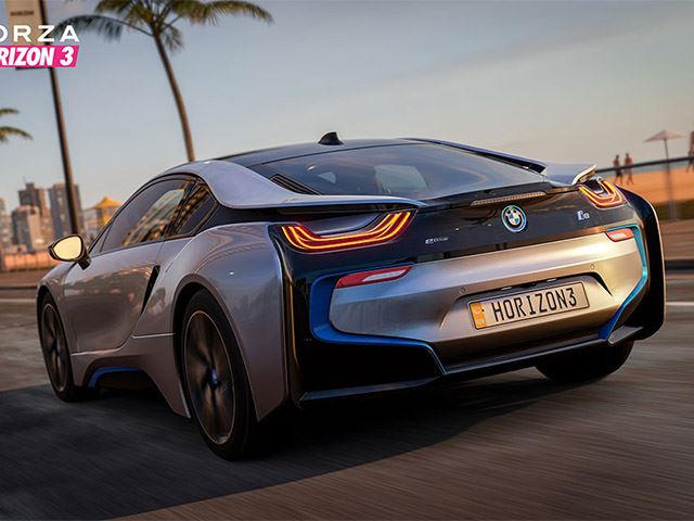 New Car Games >> Bmw I8 Makes Video Game Debut In Forza Horizon 3 Carbuzz