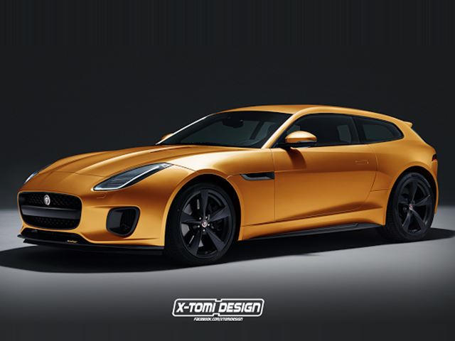 A Jaguar F Type Shooting Brake Would Steal Customers Away From Ferrari Carbuzz
