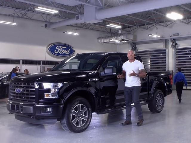 Dwayne The Rock Johnson Wants You To Go To A Ford
