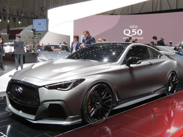 Q60 Black S >> The Wild Infiniti Q60 Black S Concept Needs To Be Built And