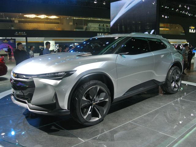 Chevrolet FNR-X Concept: Review >> We Wouldn T Be Ashamed To Own The Chevrolet Fnr X Concept Crossover