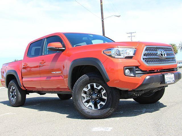 Toyota Recalls More Than A Quarter-Million Tacomas Due To