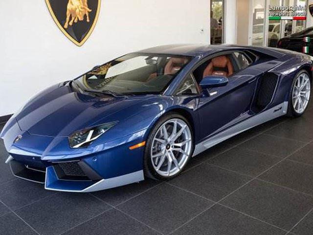 This Gorgeous Lamborghini Aventador Pays Tribute To The Legendary