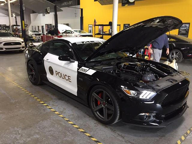 This 730-HP Saleen Mustang Is One Of The Fastest Police Cars Ever
