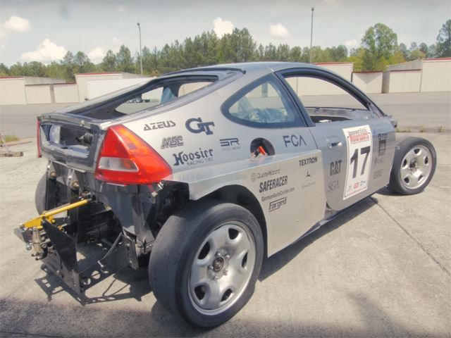 This Honda Insight Was Stripped Naked And Given A Subaru