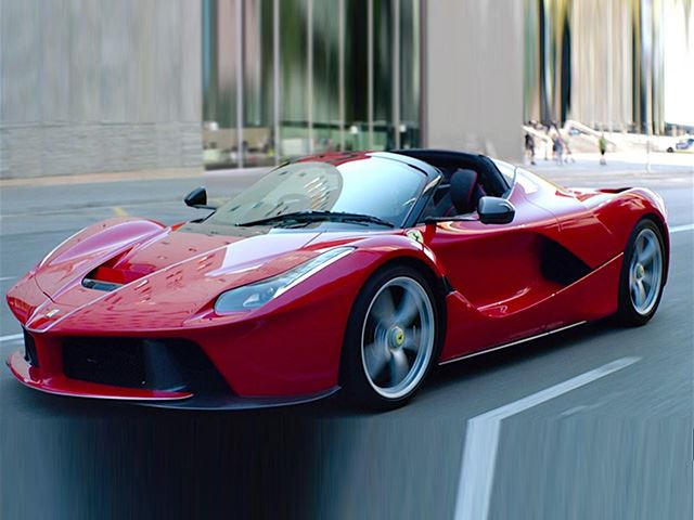 This Ferrari LaFerrari Aperta Has A Ludicrous Asking Price