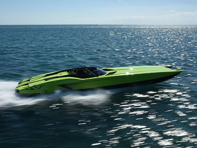 Lamborghini Aventador SV And Matching Speedboat On Sale For