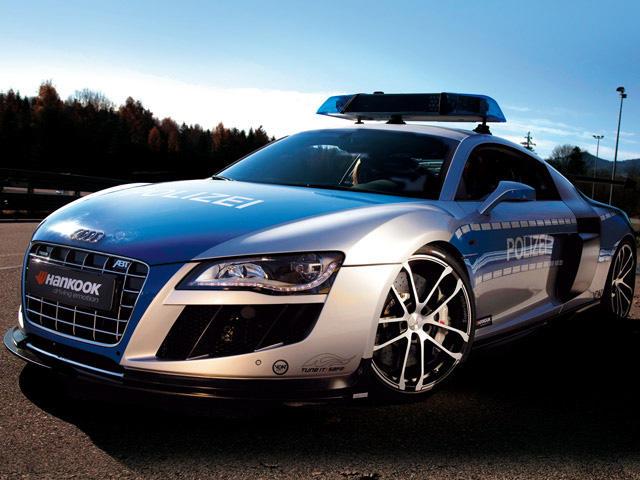 Abt Sportsline Create Audi R8 Gtr Police Car Carbuzz