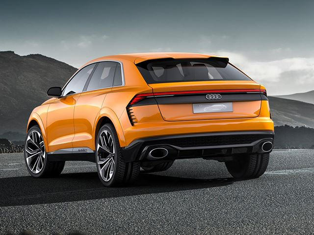 New Audi Rs Q8 Will Be A Four Rings Version Of The Lamborghini Urus
