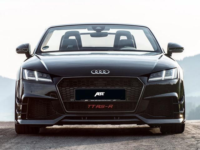 Abt Sportsline Audi Tt Rs R Is A 500 Hp R8 V10 Challenger Carbuzz