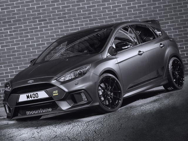 Focus Rs Hp >> Mountune S 400 Hp Ford Focus Rs Might As Well Be An Rs500 Carbuzz