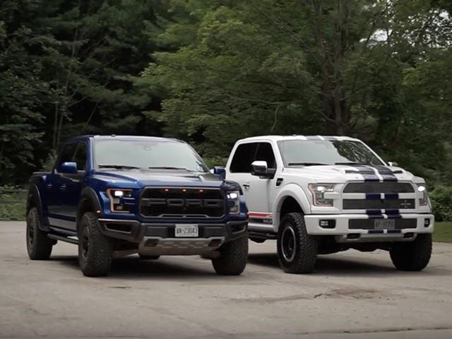 How Does The F-150 Raptor Compare To The 750-HP Shelby F-150