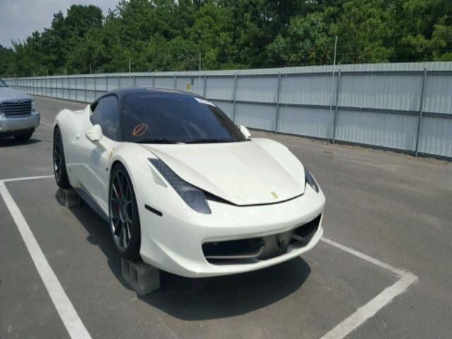 Someone Is Trying To Sell Flood Damaged Ferrari 458 Italia