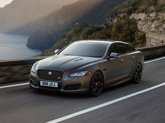 Jaguar Dumps 575-HP F-Type SVR Engine Into XJ Because Why