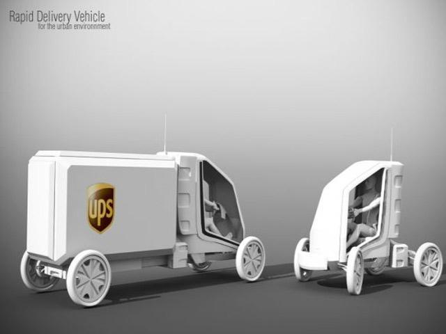 Futuristic Delivery Vehicles | CarBuzz