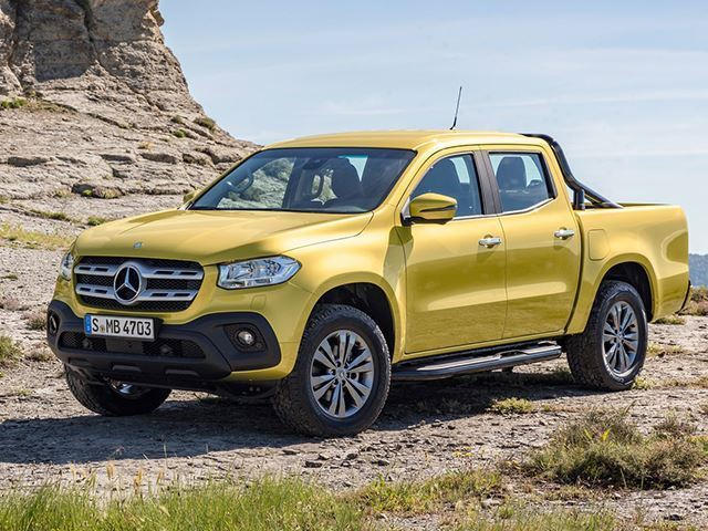 Bmw Pickup Truck >> Bmw Says The Mercedes X Class Pickup Is Appalling Carbuzz