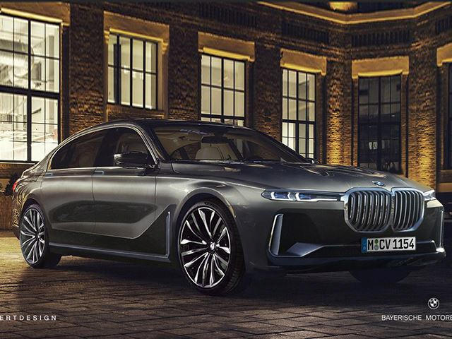 This Is What The Bmw 7 Series Could Look Like In 2020 Carbuzz