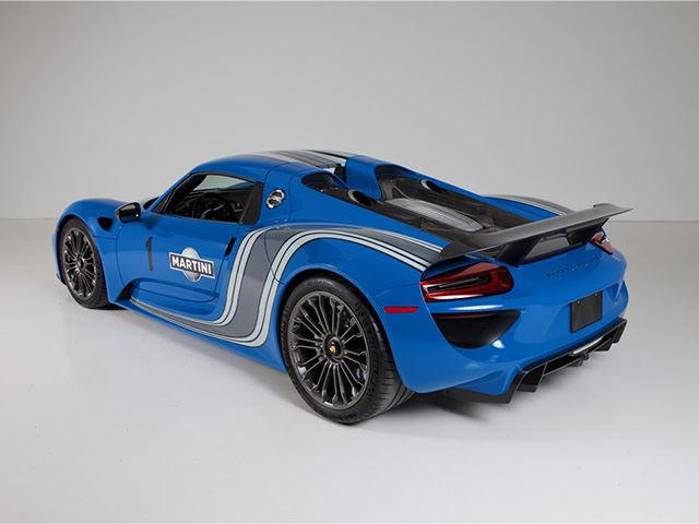 This Porsche 918 Spyder In Voodoo Blue Is One Of A Kind
