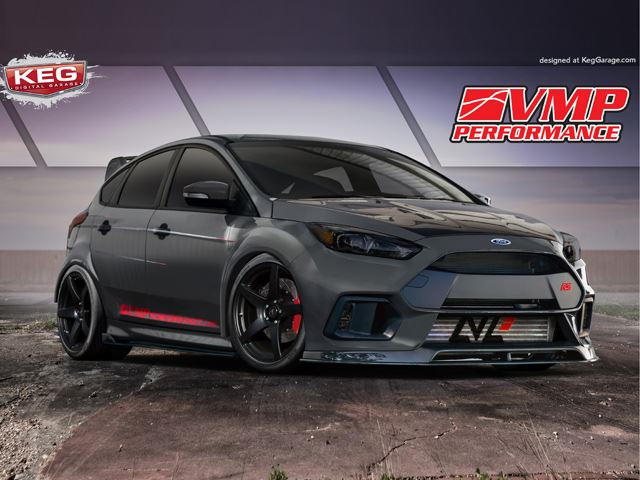 Ford Will Reveal These Modified Focus ST And RS Concepts At