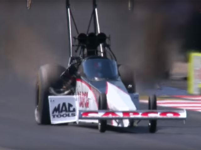 Dragster Slams Into Wall At 300 MPH, Driver Still Wins Race | CarBuzz