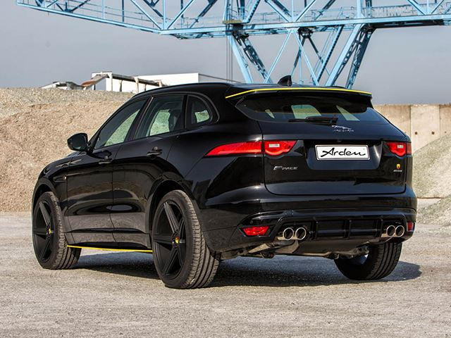 German Tuner Gives Jaguar F-Pace A Potent Power Upgrade