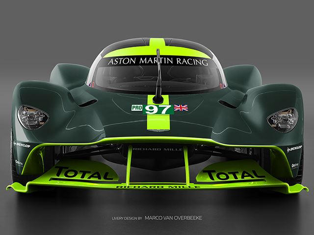 This Is What The Track Only Aston Martin Valkyrie Could Look
