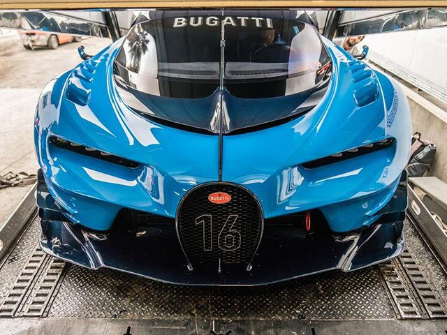 Californian Car Collector Buys Bugatti Vision GT Concept