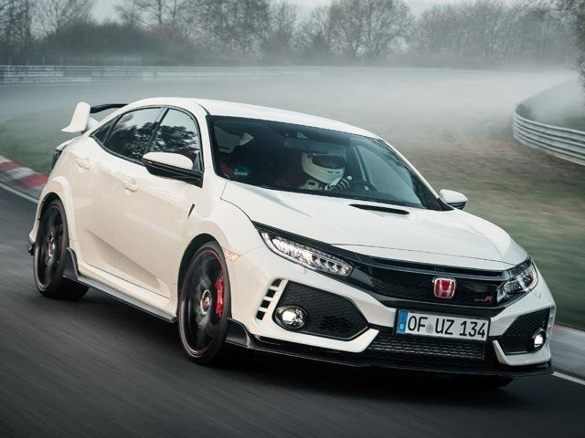 Honda Civic Type R Exceeds Official Top Speed In Autobahn