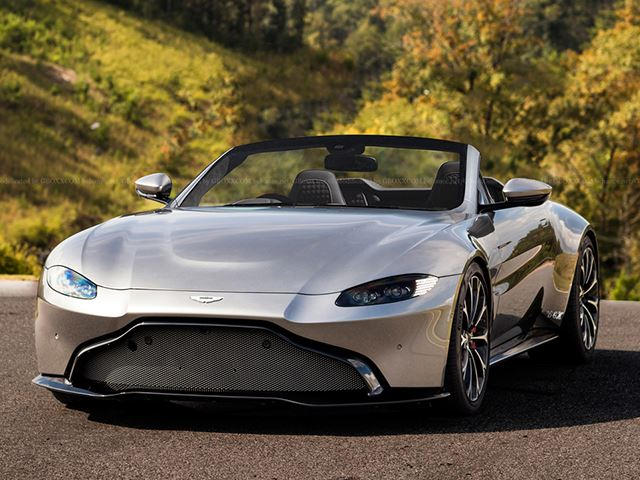 New Aston Martin >> New Aston Martin Vantage Would Make A Stunning Roadster Carbuzz