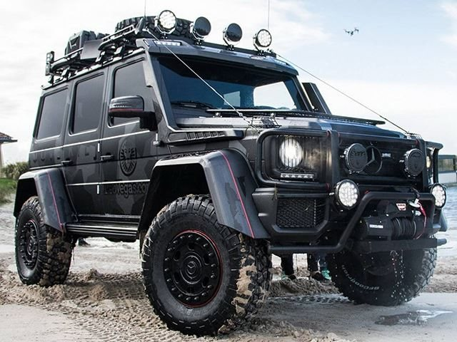 Jon Olsson Has Built A Beastly 800-HP Mercedes G500 4x4 Squared