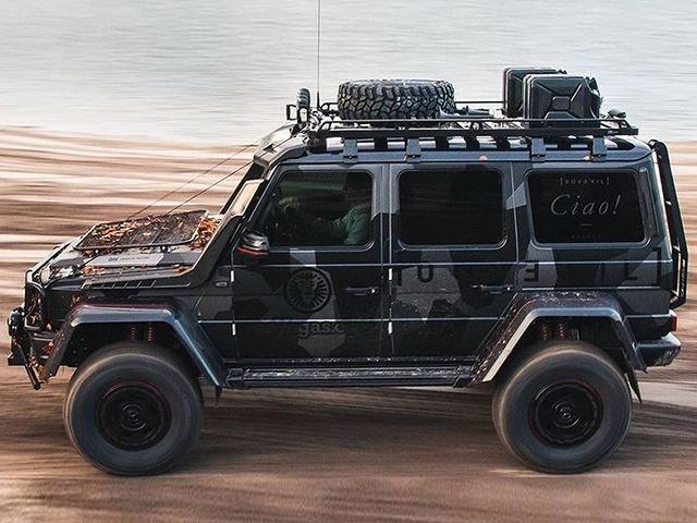 Jon Olsson Has Built A Beastly 800-HP Mercedes G500 4x4
