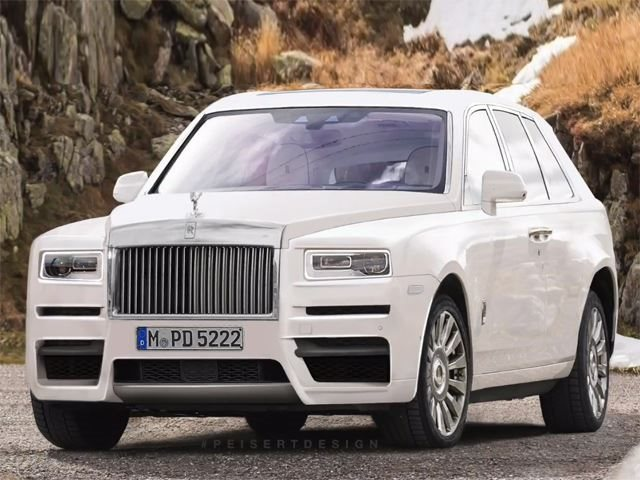 This Is Your Best Look Yet At The Rolls Royce Cullinan Suv Carbuzz
