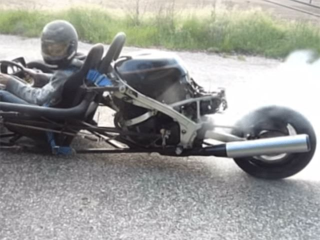 Illegally Hitting the Open Road with a 1,000 CC Hayabusa