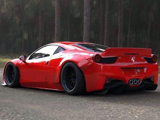 Ferrari 458 Widebody by LB Performance