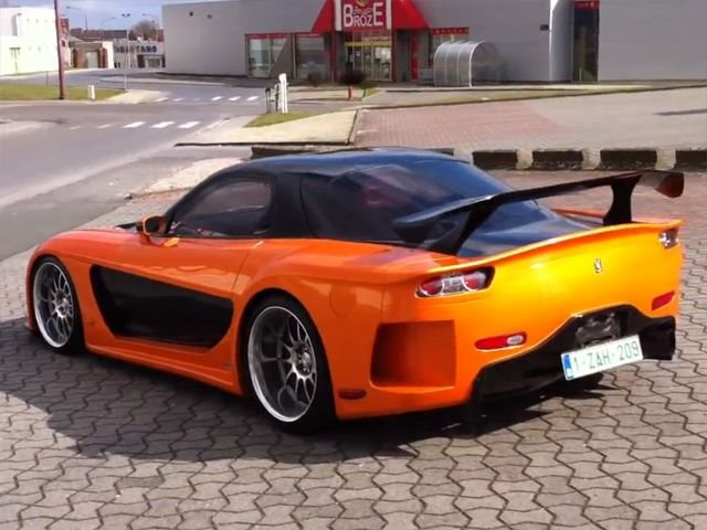 F&F-Style VeilSide RX-7 Fortune For Sale   CarBuzz
