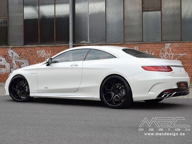 S63 Amg Coupe >> Mec Design Uncovers White Sugar S63 Amg Coupe Carbuzz
