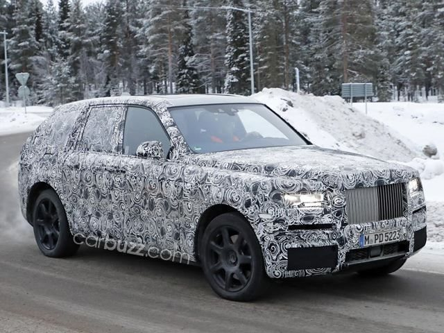 The Rolls Royce Cullinan Suv Will Not Be Called Cullinan Carbuzz