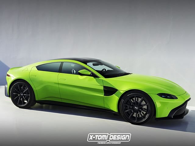 Could The New Aston Martin Vantage Be The Perfect Rapide Replacement Carbuzz