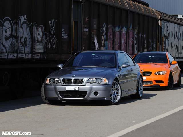 The Super Rare Bmw M3 E92 Gts And M3 E46 Csl Chill By The Track