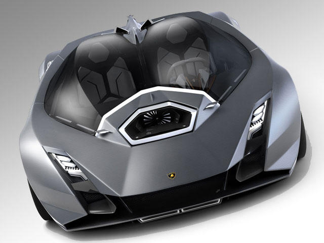 Student Envisions a Future Lamborghini