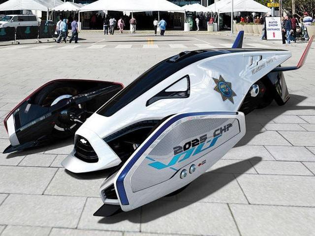 LA Challenge Designs Future Cop Cars | CarBuzz