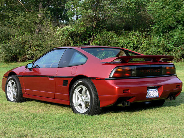 Famous for Catching Fire: Pontiac Fiero | CarBuzz
