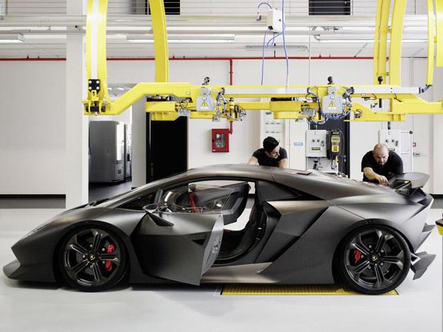 Lambo Starts Sesto Elemento Production Carbuzz