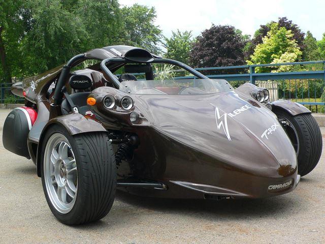Three-Wheeled Cars: Campagna T-Rex | CarBuzz
