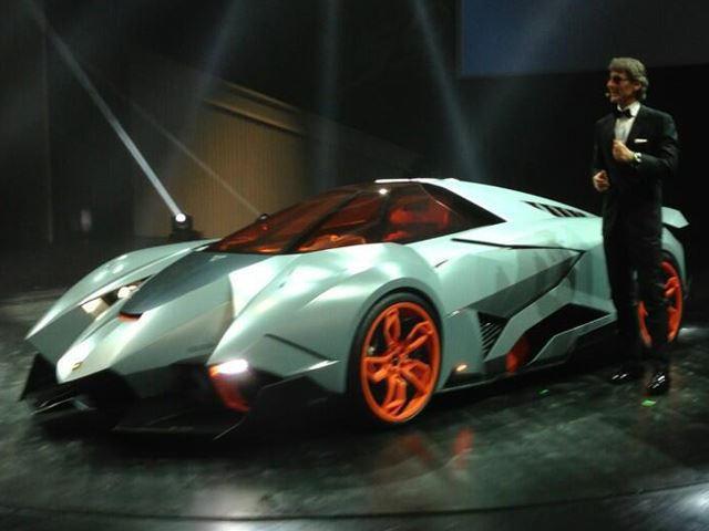 Lamborghini Egoista Concept Unveiled Carbuzz