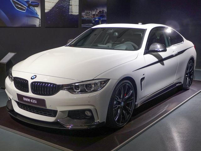 bmw 4 series m performance parts unveiled carbuzzbmw 4 series m performance parts unveiled