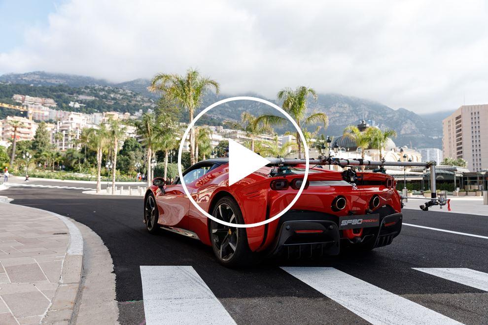 Ferrari's Raucous SF90 Stradale Wakes Up Monaco In New Film Shoot - CarBuzz