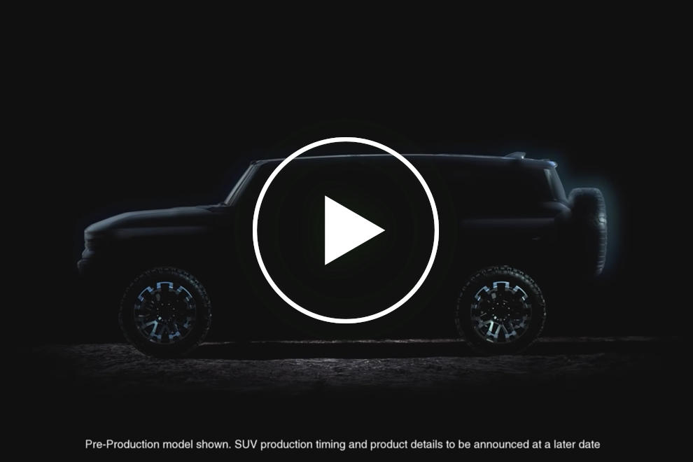 Teased: GMC Hummer Electric Truck & SUV Coming This Fall ...