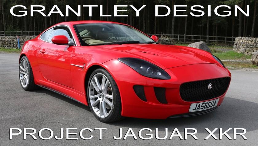 Jaguar XKR super-car styling  by Grantley Design  2006 to 2014 Jaguar XKR