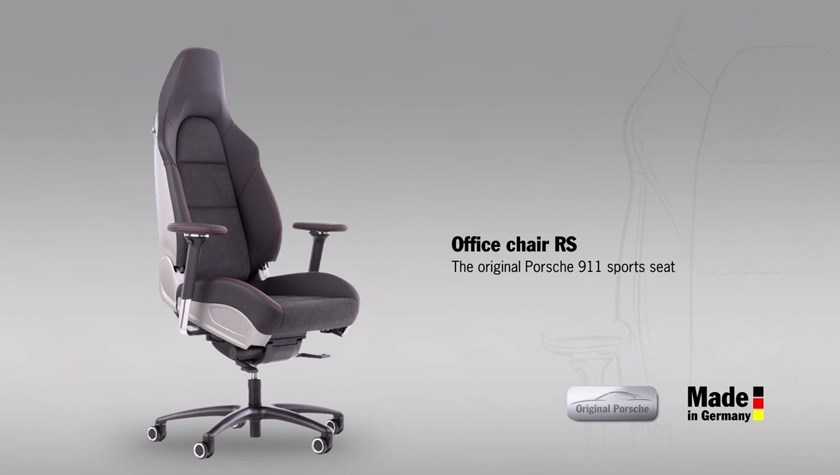 Porsche Just Built An Office Chair That Is How Expensive Carbuzz